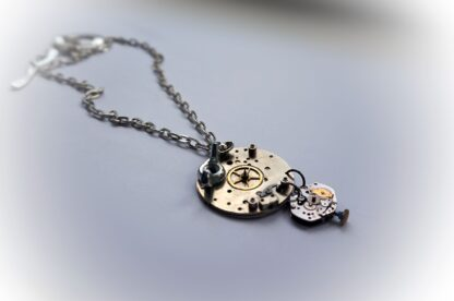 steampunk necklace pendant apocalypse