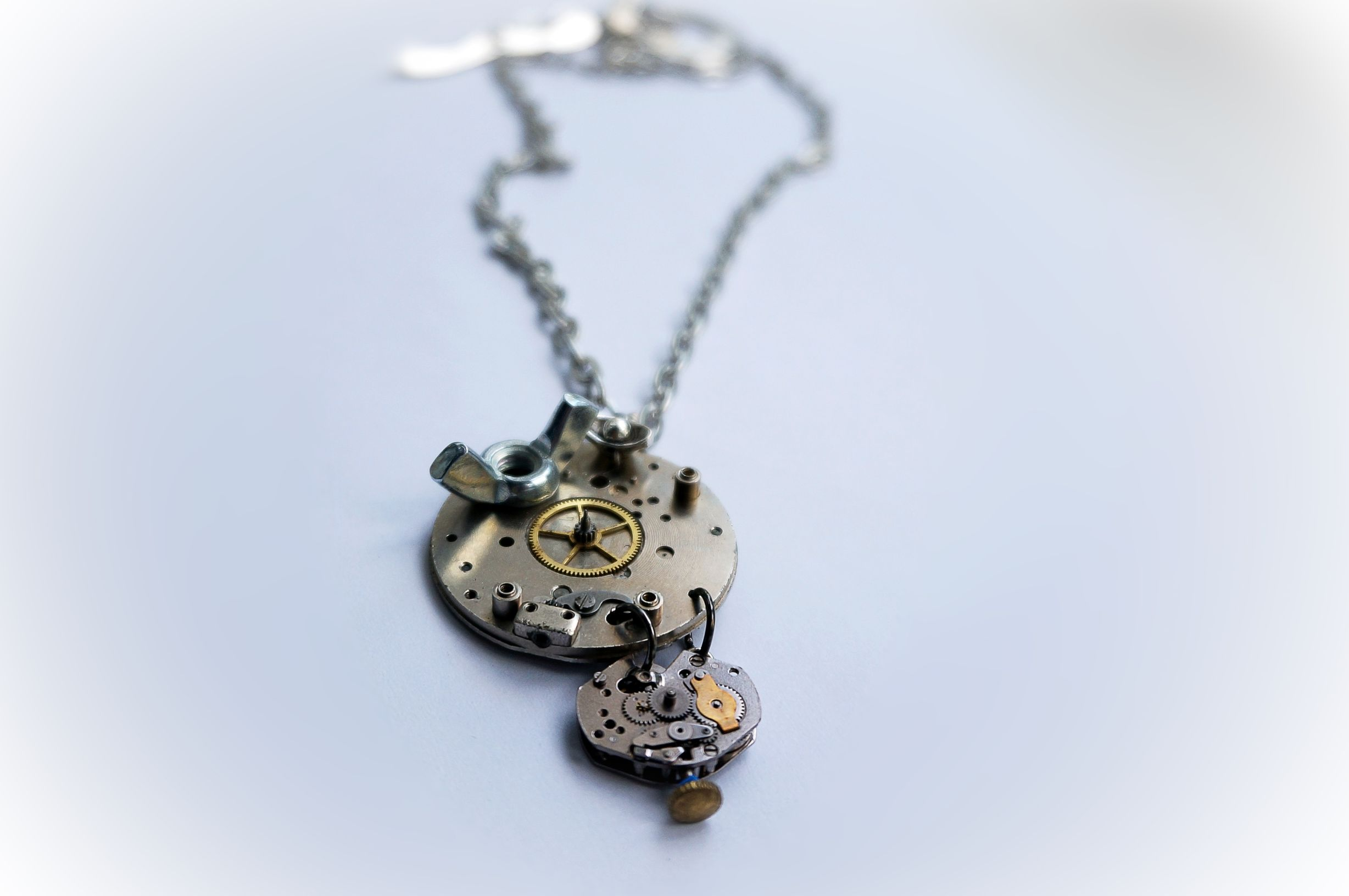steampunk necklace pendant apocalypse