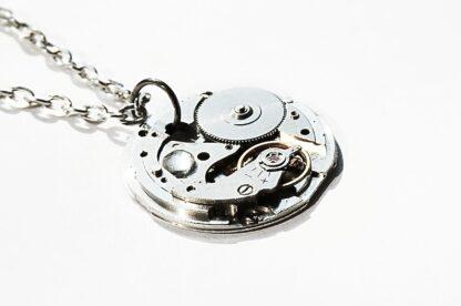 steampunk vintage watch necklace