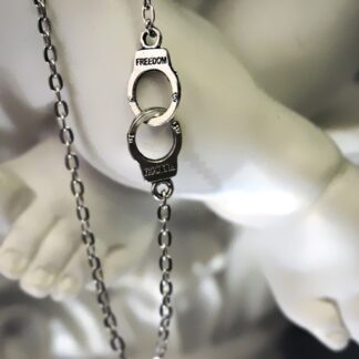 steampunk BDSM jewelry нandcuffs pendant