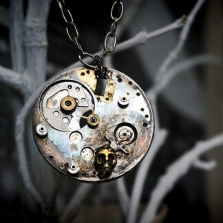 Apocalyptic Wastelands pendant necklace