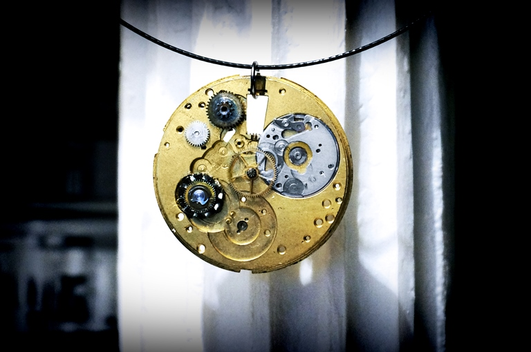 steampunk necklace pendant jewelry