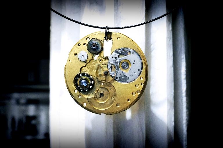 steampunk necklace pendant jewelry