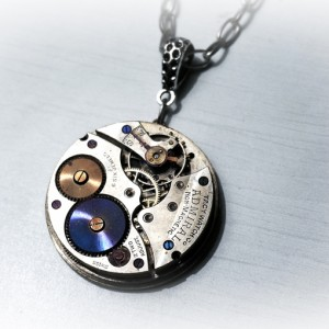 men's steampunk jewelry necklace