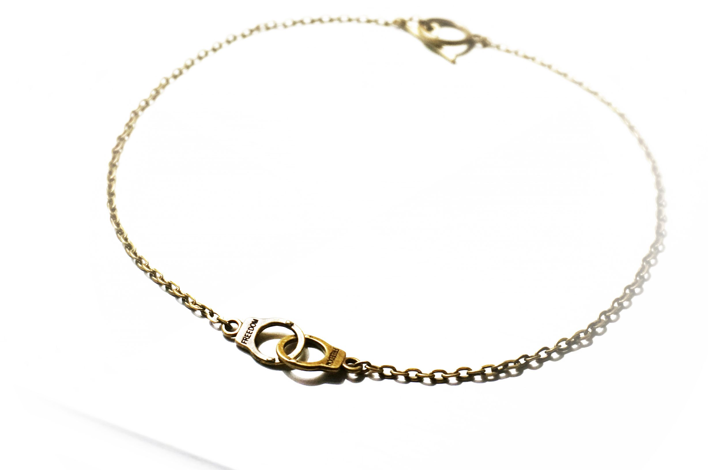 steampunk BDSM jewelry нandcuffs pendant