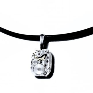 Steampunk soviet vintage mens necklace
