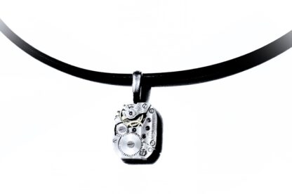 Steampunk soviet vintage mens necklace