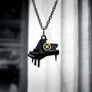 steampunk pendant grand piano