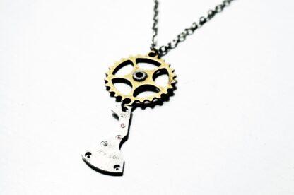 steampunk necklace pendant