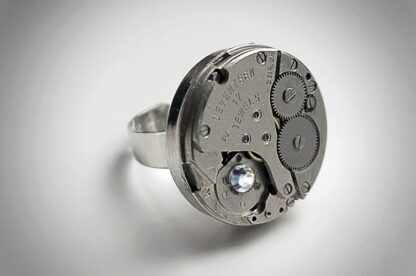 steampunk bdsm ring woman man jewelry