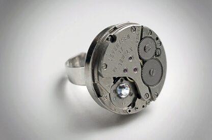 кольцо стимпанк бдсм украшение унисекс