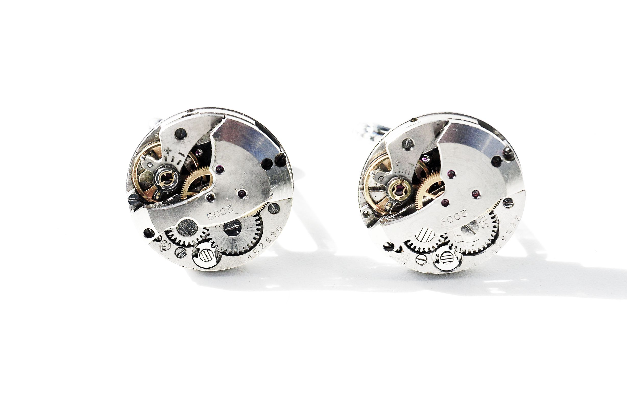 steampunk bdsm mens cufflinks