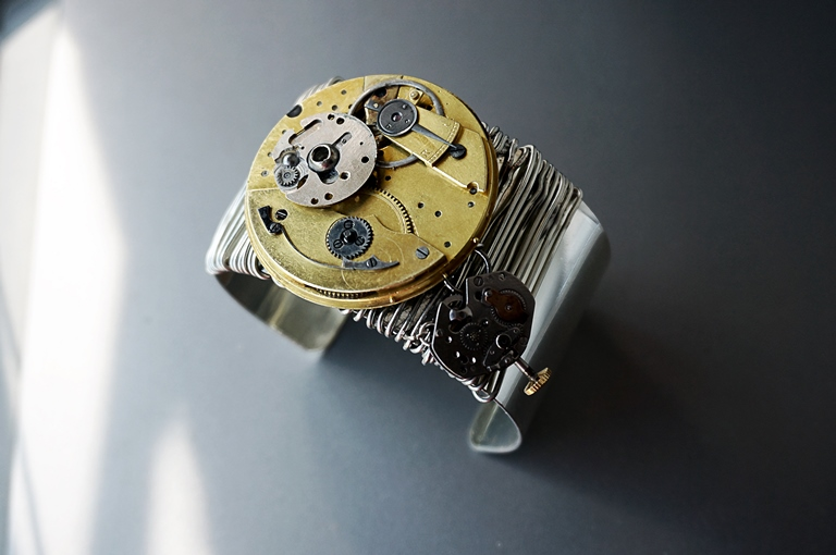 Apocalypse steampunk bracelet burning man