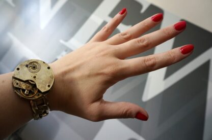 steampunk mens jewelry bracelet