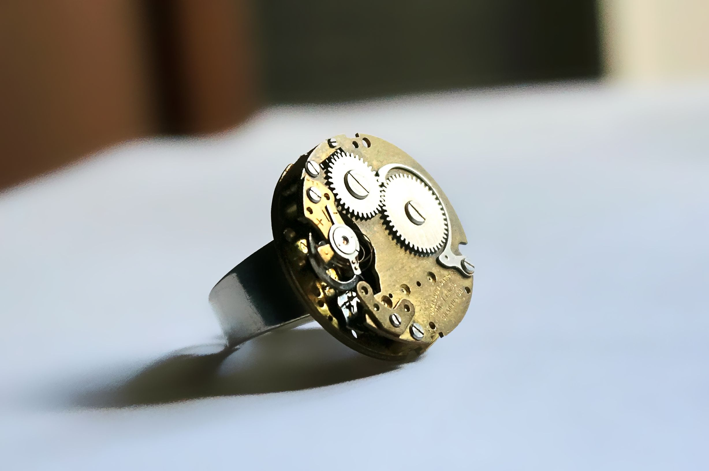 steampunk bdsm ring grunge industrial