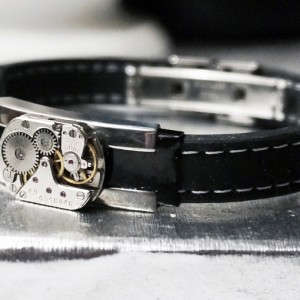 steampunk mens jewelry bracelet boyfriend for him