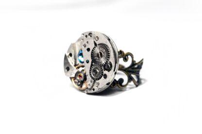стимпанк бдсм женское кольцо домина
