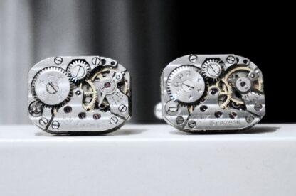 steampunk jewelry mens cufflinks