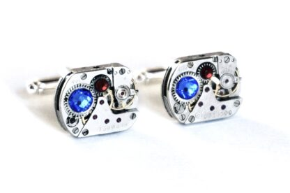 steampunk jewelry mens cufflinks gift for him