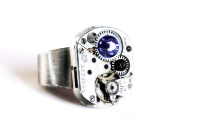 steampunk mens jewelry ring boyfriend for him husband
