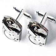 steampunk bdsm mens cufflinks gift