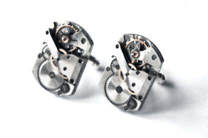 steampunk bdsm mens cufflinks gift