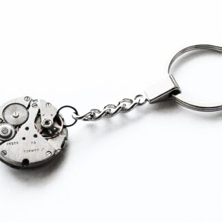 steampunk keychain key chain car mens gift