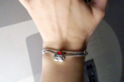 pandora style charm bracelet