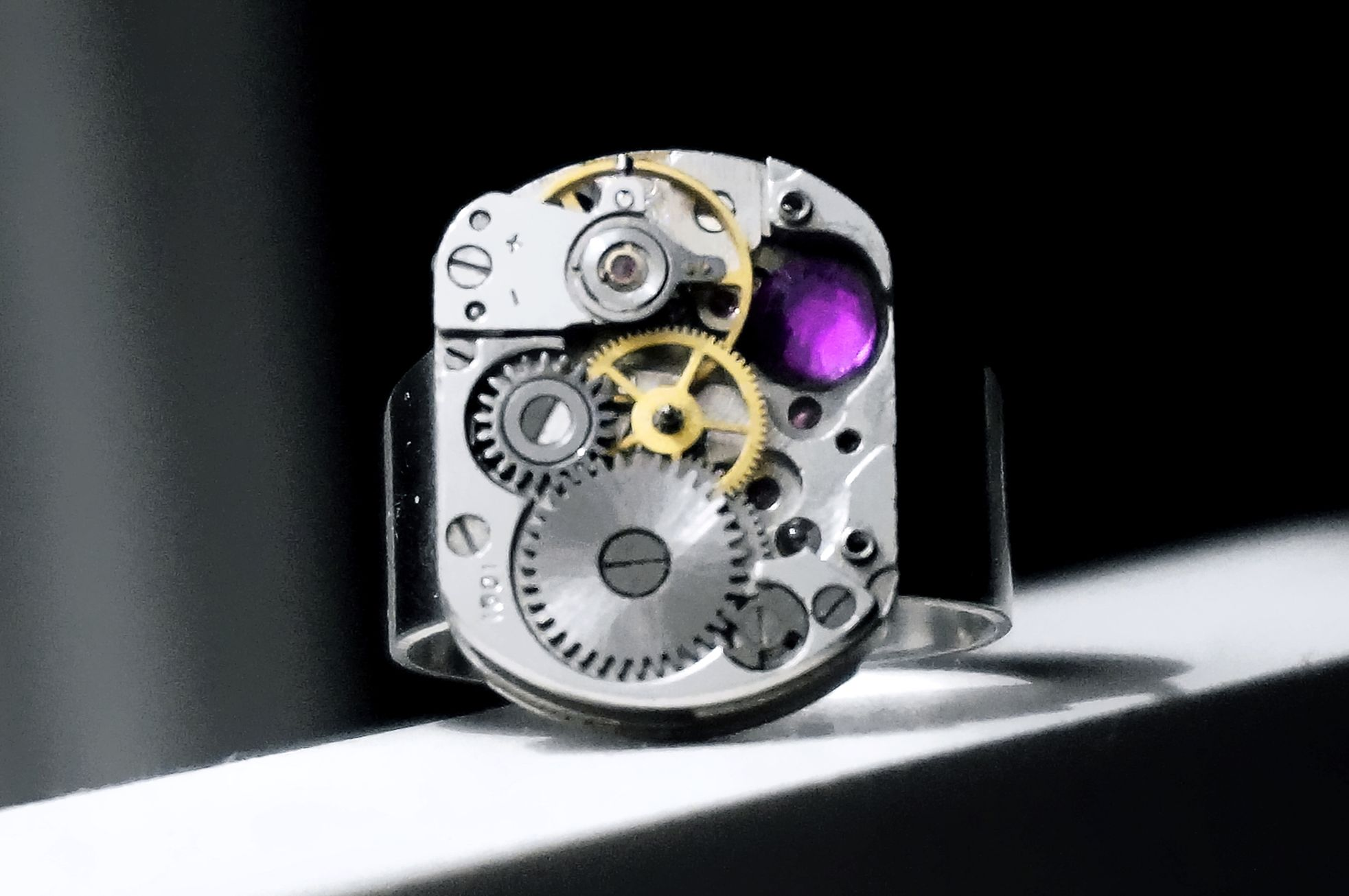 steampunk mens jewelry ring boyfriend for him