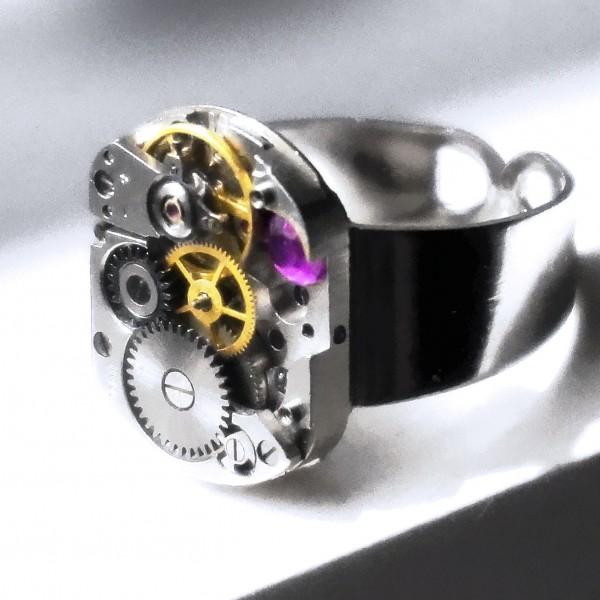 steampunk mens jewelry ring boyfriend for him