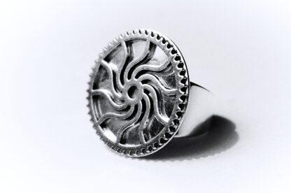 кольцо индустриальное киберпанк