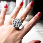 burning man style ring