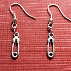 steampunk bdsm earrings pin
