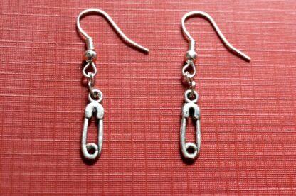 steampunk bdsm earrings pin