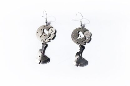 steampunk bdsm burning man earrings