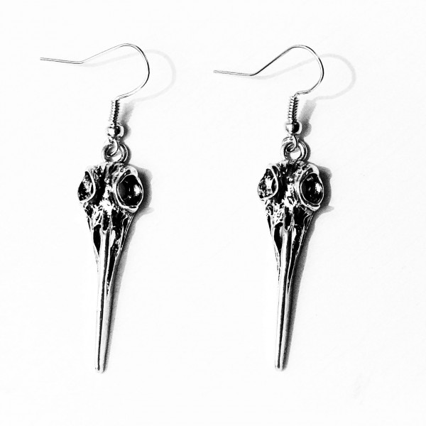 Steampunk BDSM gothic earrings