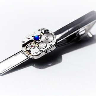 Steampunk BDSM mens Tie Clip luxury wedding anniversary