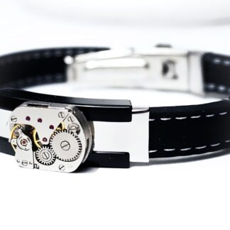 steampunk bdsm mens jewelry bracelet
