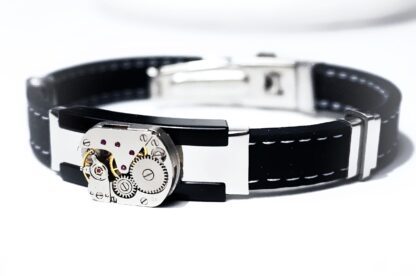 steampunk bdsm mens jewelry bracelet