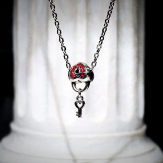 BDSM Heart Key chain charm Pendant