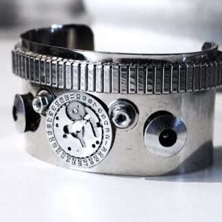 Steampunk BDSM Cuff Apocalypse burning man Chronicles bracelet