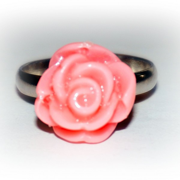 Gothic jewelry flower Ring birthday anniversary engagement wedding Gift