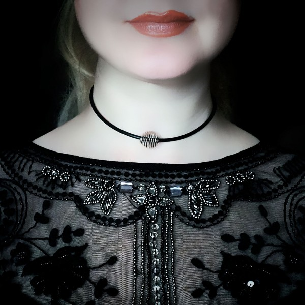 BDSM submissive day collar slave dominant fetish jewelry