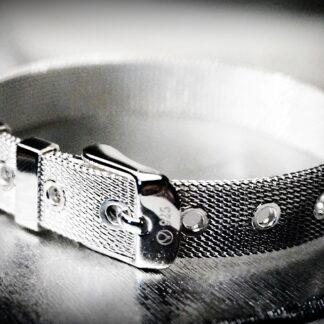 БДСМ украшения серебряный браслет сабмиссив доминант фетиш наручники