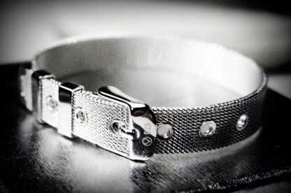 БДСМ украшения серебряный браслет сабмиссив доминант аксессуары