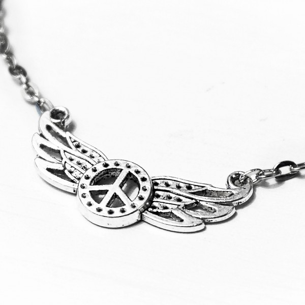 BDSM submissive dominant collar pendant necklace