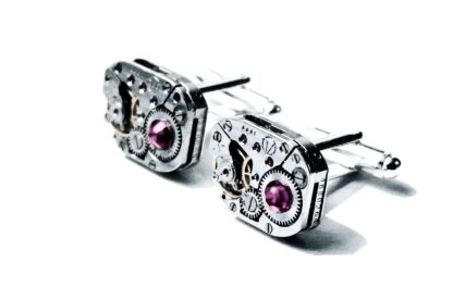 steampunk jewelry mens cufflinks for him