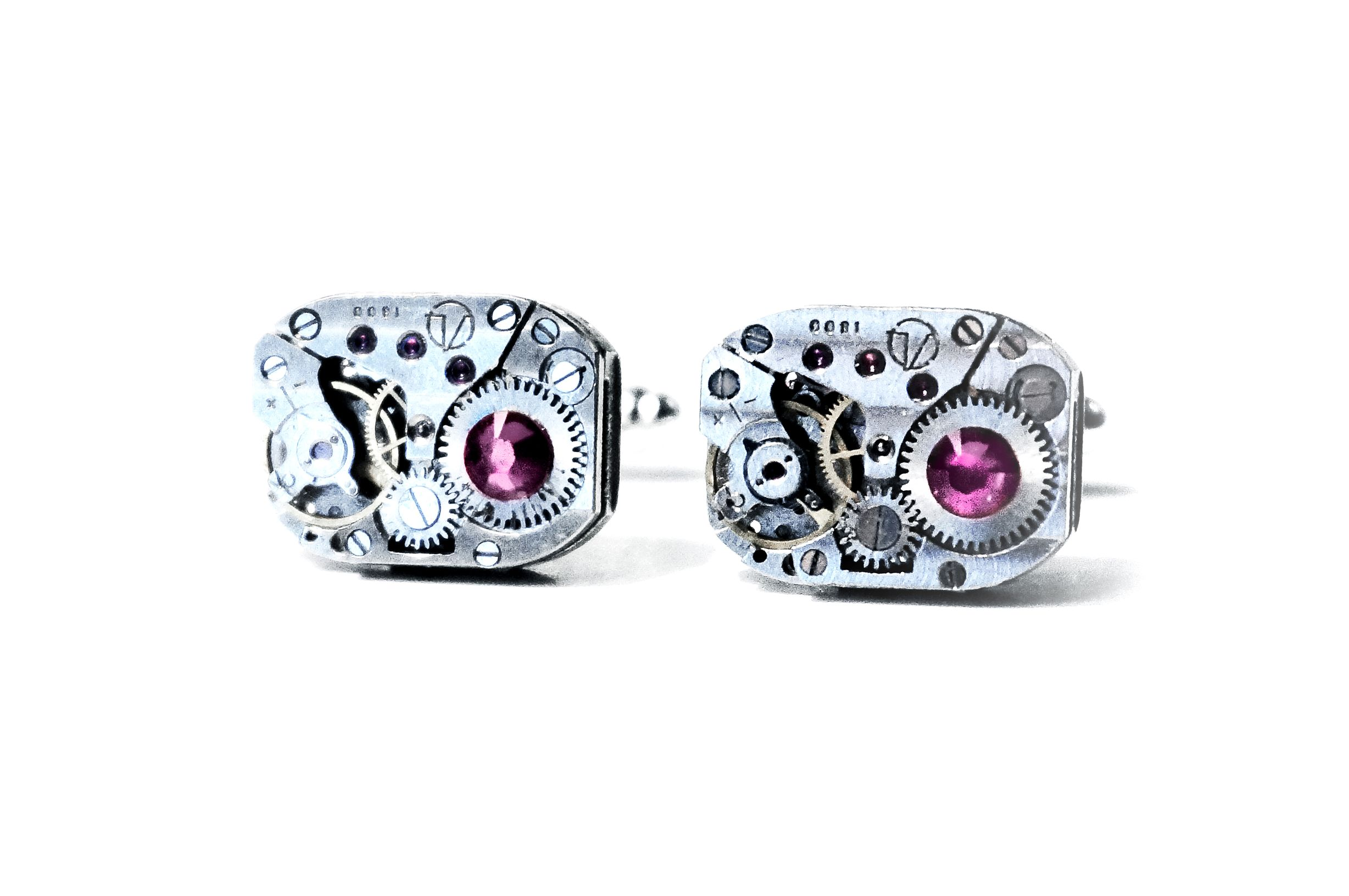 steampunk jewelry mens cufflinks for him