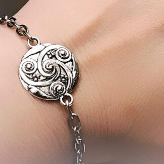 BDSM symbol triskele jewelry