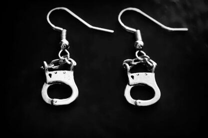BDSM jewelry handcuffs earrings